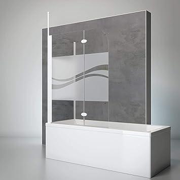 Schulte 4060991021527 comodidad Mampara para bañera, Alpin de ...