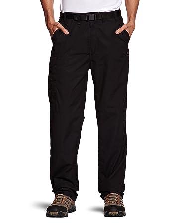 Craghoppers Herren Classic Kiwi Hose, Black, 26 Zoll