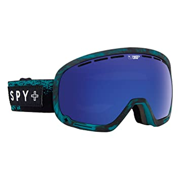 52002dccd1e Spy Marshall Snowboard Goggles Masked Teal Happy Bronze With Dark Blue Spec  spygosn mar One size
