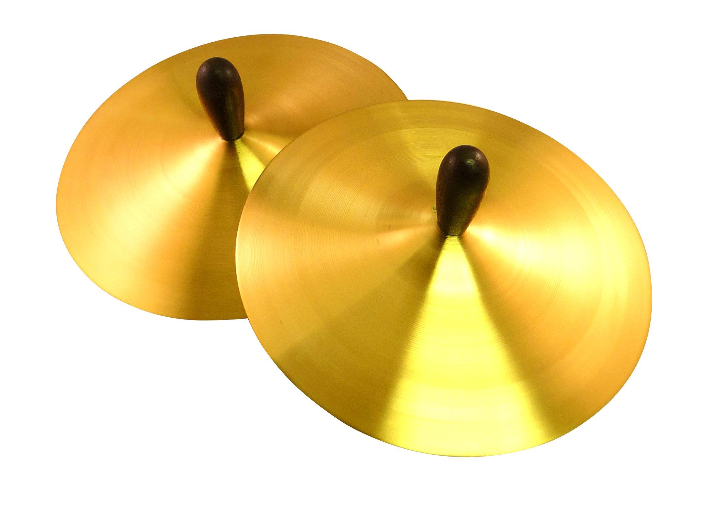 Suzuki Musical Instrument Corporation CY-2 8-Inch Crash Cymbals - 1 Pair by Suzuki Music