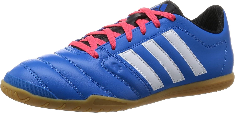 Derribar Puerto Mirar atrás  adidas Gloro 16.2 Indoor Unisex Football Boots - Blue/White/Imperial Red,  Size 8.5: Amazon.co.uk: Shoes & Bags