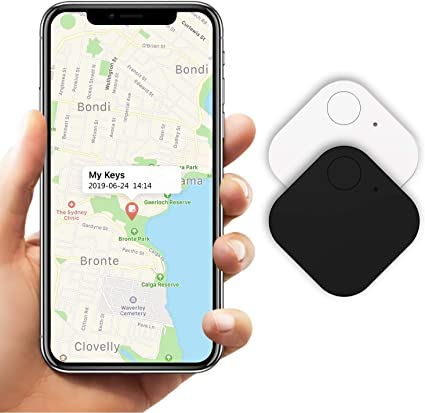Kimfly Key Finder Smart Bluetooth Tracker Pack of 2 Wireless Item Finder GPS Tracker Alarm Reminder Key Finder for Cats, Dogs, Keys, Luggage, Wallet, Mobile Phone, Child: Amazon.de: Navigation & Car HiFi