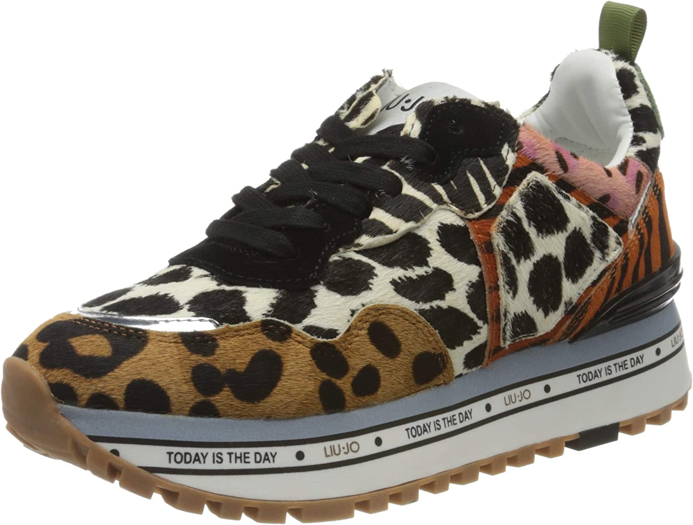 Renacimiento Cabra navegación  Amazon.com | Liu Jo Shoes Women's Low-Top Sneakers | Fashion Sneakers