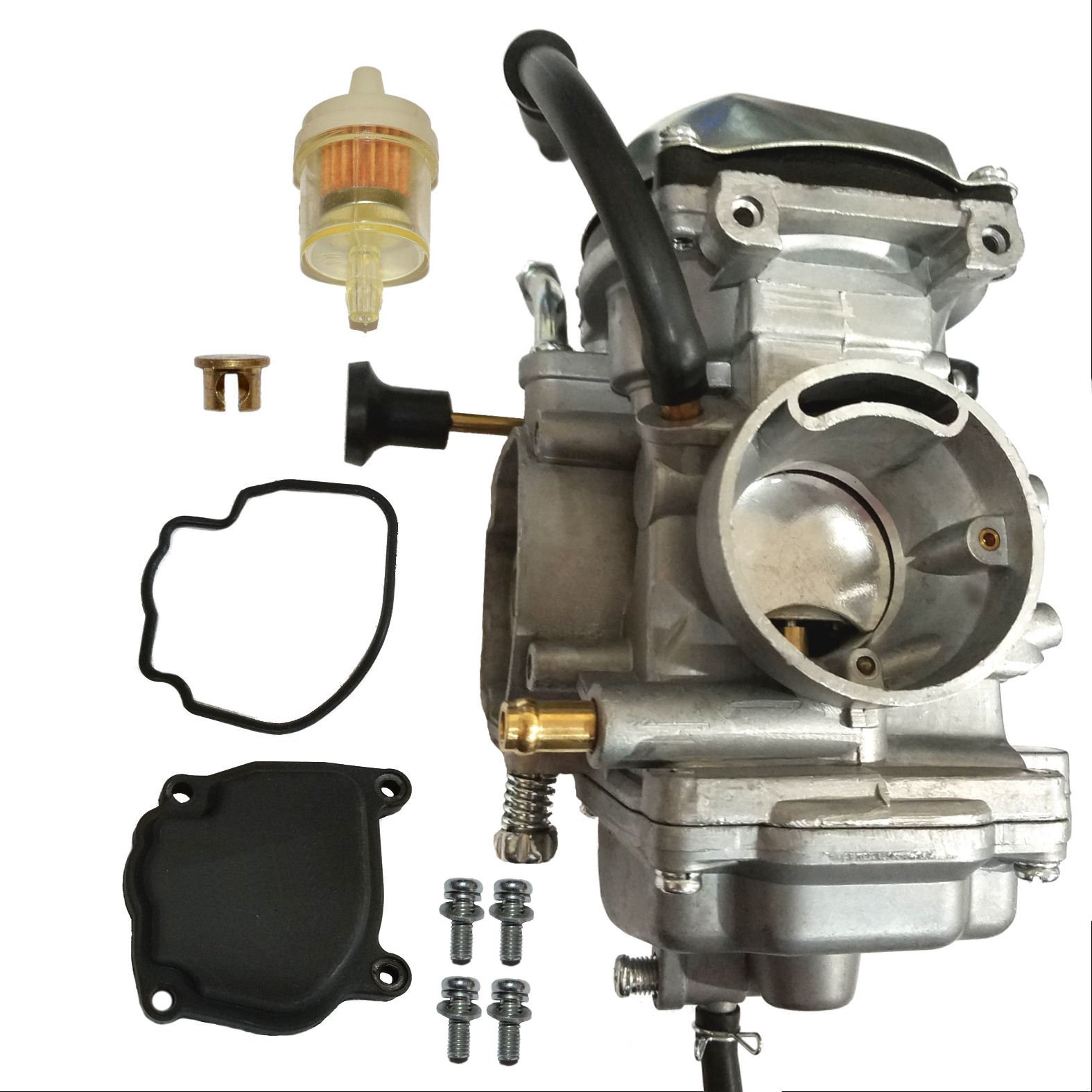 ZOOM ZOOM PARTS PERFORMANCE CARBURETOR YAMAHA WOLVERINE 350 YFM 350 YFM350 ATV 1996-2005 CARB