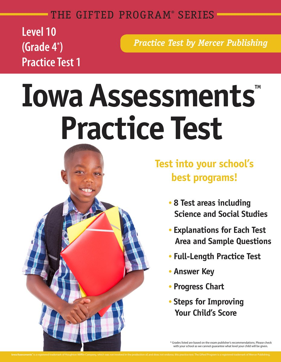 Iowa AssessmentsTM Practice Test (Grade 4) Level 10: Mercer