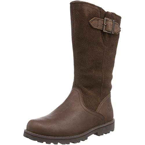 Timberland Asphalt Trail FTK_Briarcliff Girls Tall Wp Boot, Girls' Cold Lined Classic Boots Long Length