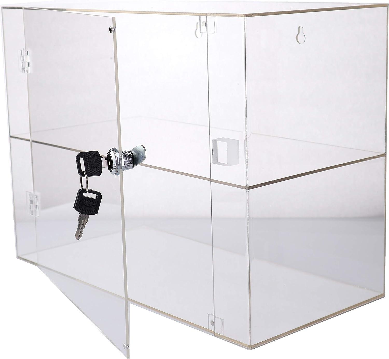 PC3721® 1 Vitrina de acrílico Transparente de Alto Brillo con 1 ...