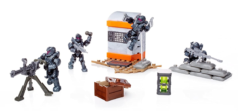 Mega Construx Halo Spartans of Fireteam Shadow Building Set