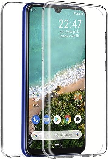 PLANETMOVIL Funda 360 Compatible con [ Xiaomi MI A3 ] 6,1 Pulgadas ...