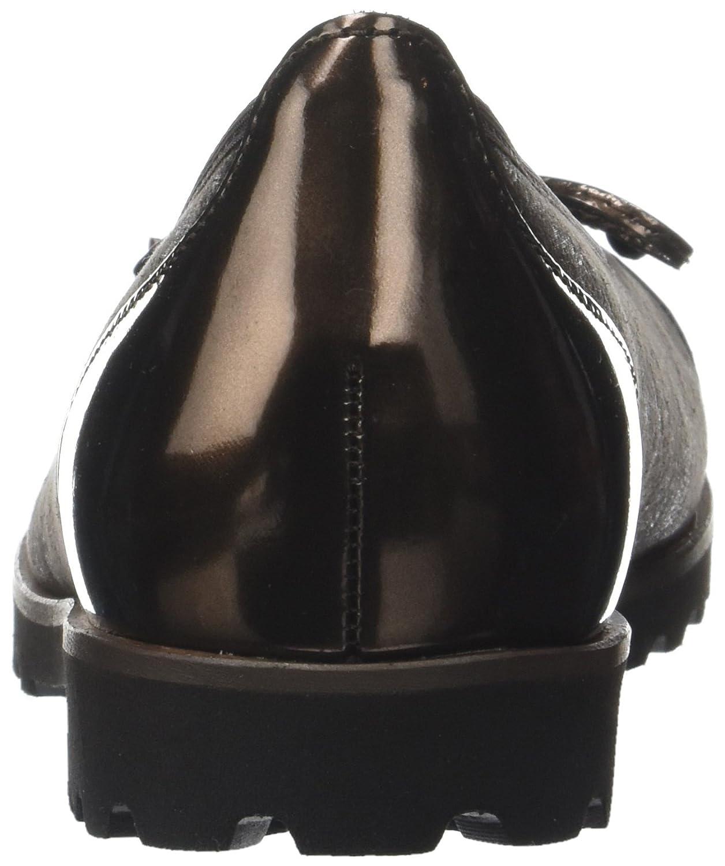 Gabor Damen Jollys Geschlossene Ballerinas, Schwarz Braun Braun Braun (Braun (Cognac)) 026388