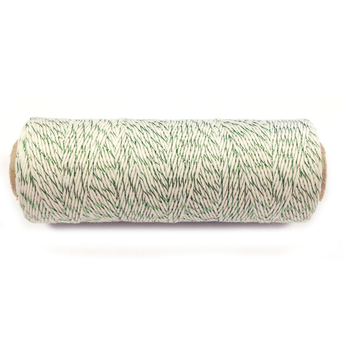 WrapablesコットンBaker 's Twine 4ply 110ヤード 6049290 B00LBDUBAY Green Metalic