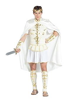 Banyant Disfraz DE CÉSAR Emperador Romano para Hombre Talla ...