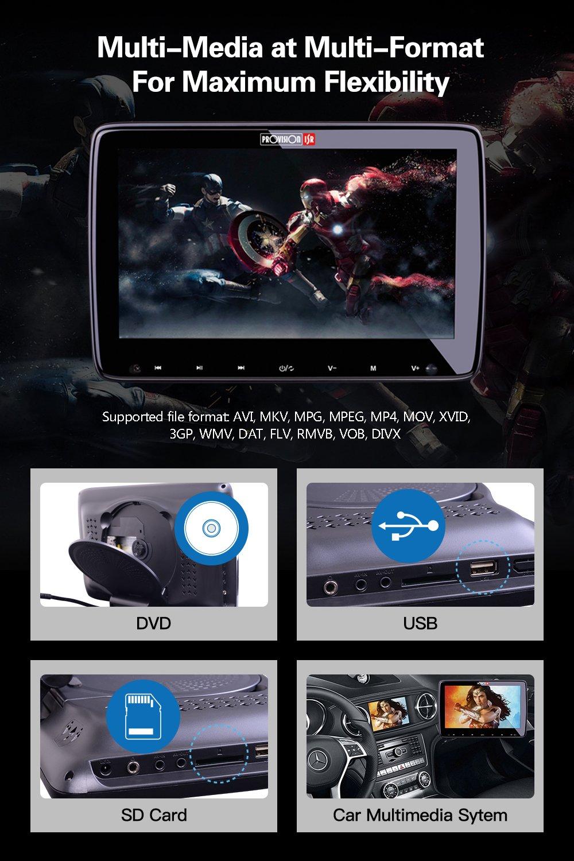 Headrest DVD Player, Car Headrest DVD, 10.2\