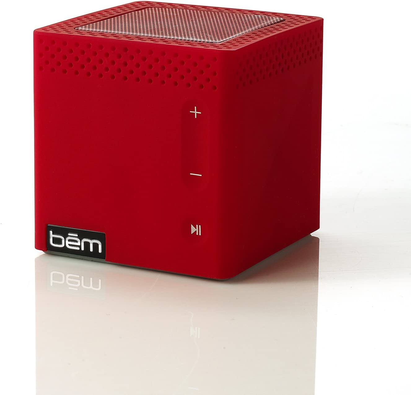 Bem HL9C, Bluetooth Mobile Speaker for Smartphones, iPhone, iPad with  Touch-Sensitive Buttons - Red