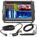 Lowrance 000-14123-001 Elite-12 Ti Mid/High Skimmer LSS-HD Transducers