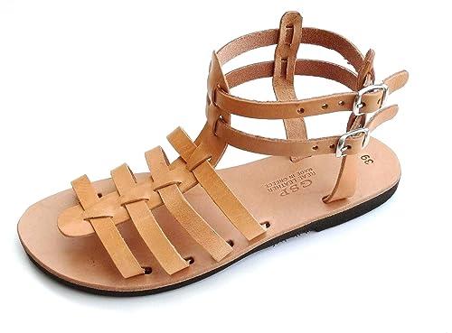 1013243d4e5e90 Women s Handmade Leather Sandals - K6 (37 EU - 6.5 US
