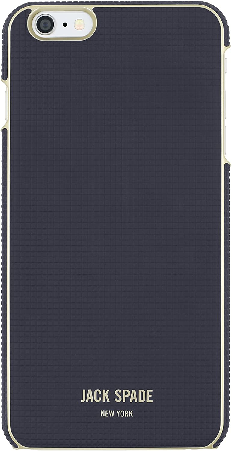 JACK SPADE iPhone 6s Case [Shock Absorbing][Textured] Cover fits Both iPhone 6, iPhone 6s - Varick Navy