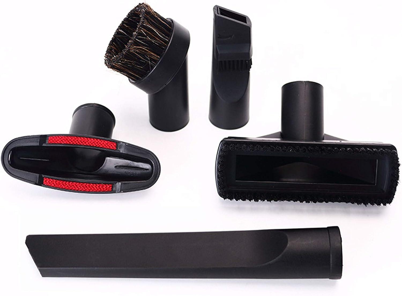 Schneespitze Accesorios para Aspiradoras,Juego de Boquillas Accesorios Fijados Limpieza Boquilla Cepillo para Muebles, AutomóViles, Instrumentos