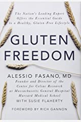 Gluten Freedom by Rich Gannon (Foreword), Alessio Fasano (29-Apr-2014) Hardcover Hardcover