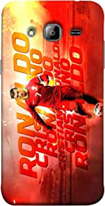 ColorKing Football Ronaldo Portugal 11 Multi Color shell case cover for Samsung J3 2016