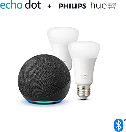 Der Neue Echo Dot 4 Generation Anthrazit Philips Hue White Led Lampe Doppelpack E27 Kompatibel Mit Bluetooth Und Zigbee Kein Hub Erforderlich Alle Produkte