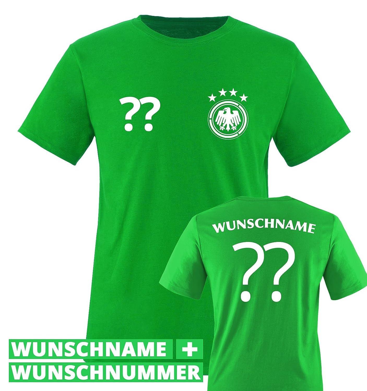 Comedy Shirts Kinder Fußball T-Shirt bedruckbar - Wunschname ...