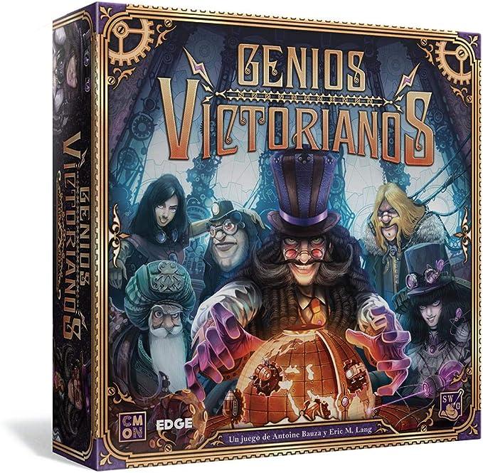 Edge Entertainment- Genios Victorianos - Español, Color (EECMVM01): Amazon.es: Juguetes y juegos