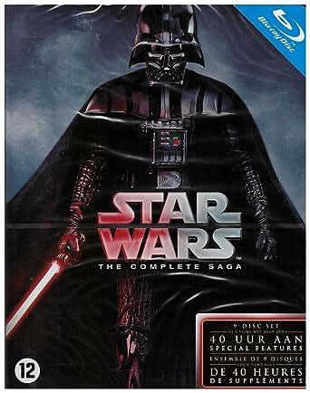 Star Wars - Integrale [Blu-ray]: Amazon.es: Cine y Series TV