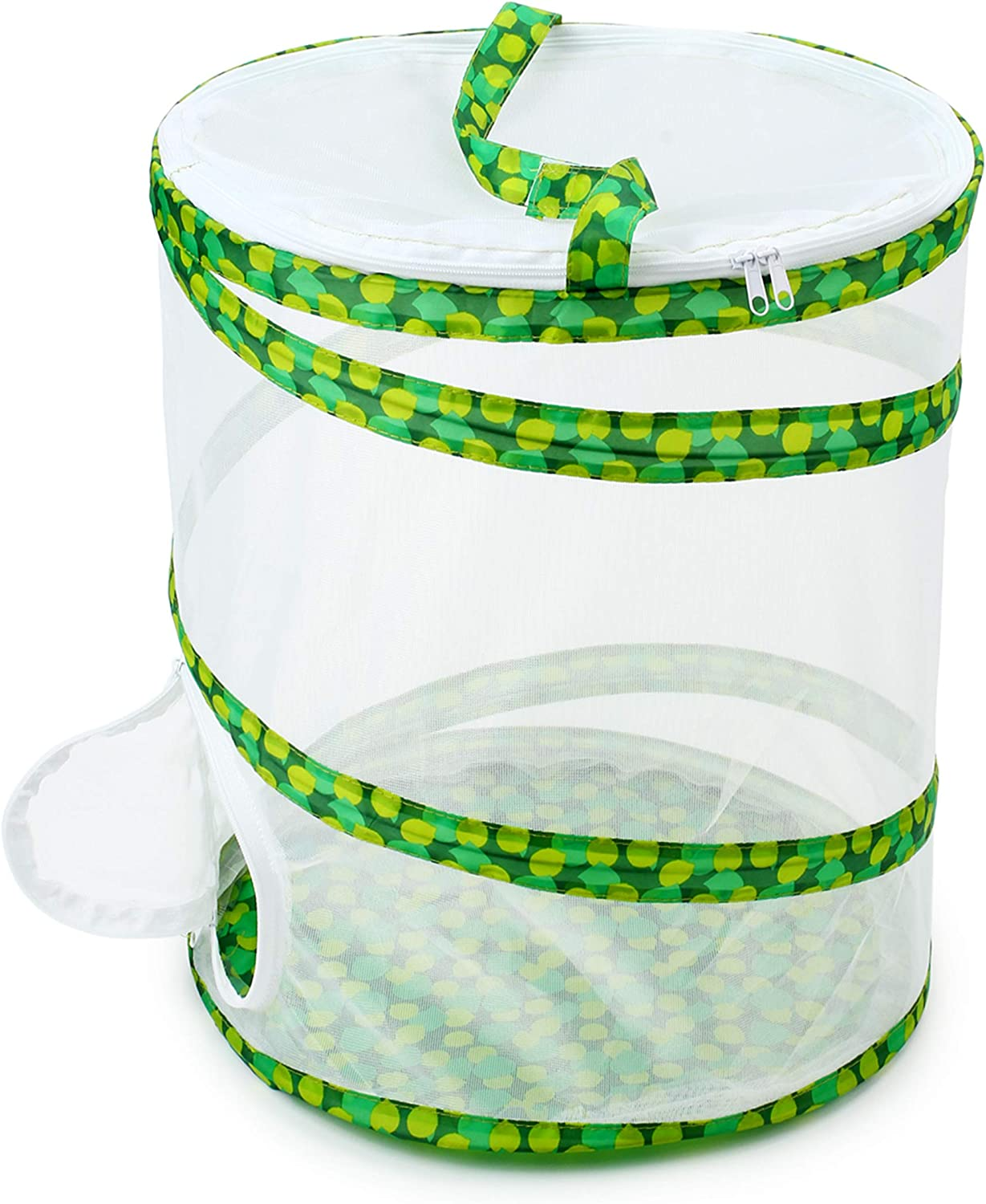 """RESTCLOUD Insect and Butterfly Habitat Cage Terrarium Pop-up 12"""" x 14"""" Tall"""