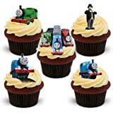 17 Stand Up Thomas The Tank Engine Edible Wafer Paper Cake Toppers Decorations