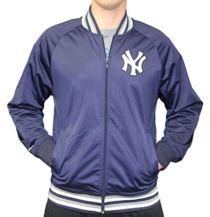 9a7acd01694 Mitchell   Ness New York Yankees MLB Men s Top Prospect Full Zip Track  Jacket (4X