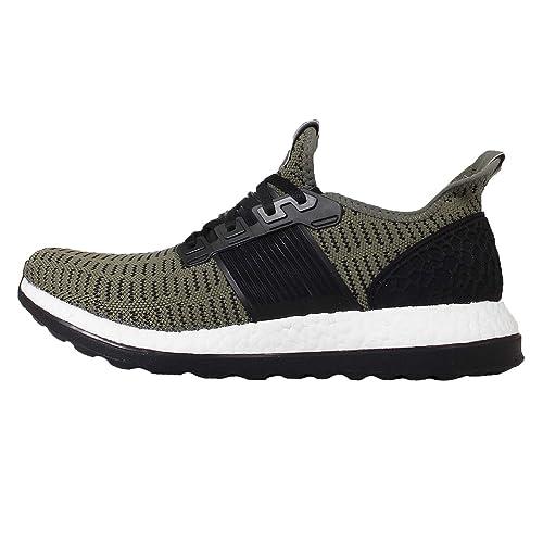 134d95727 adidas Men's Pureboost Zg Prime M Running Shoes, Green / Black / Red (Verbas