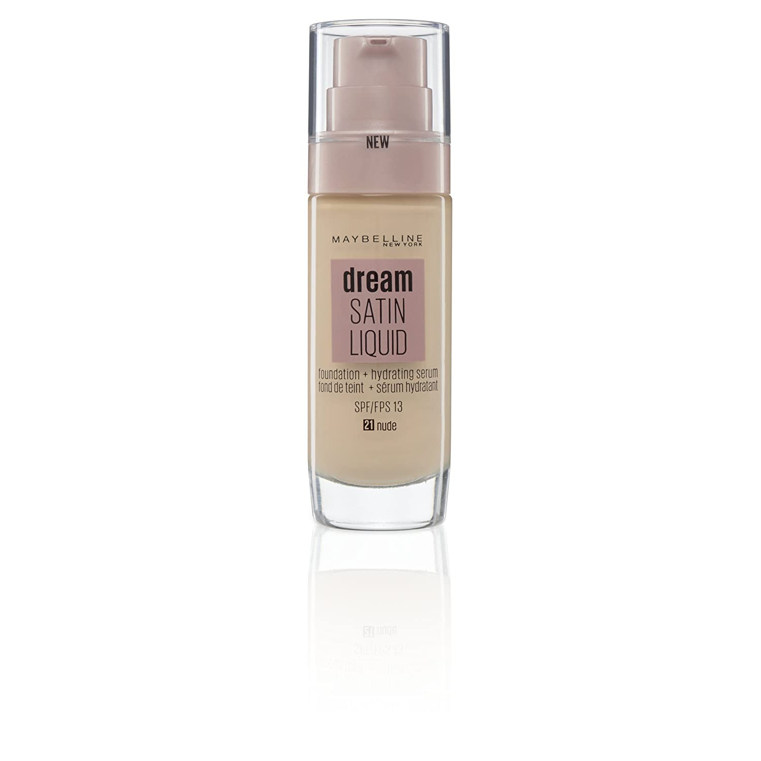1e77d7209583 Maybelline Dream Satin Liquid Fond de Teint  Amazon.fr  Beauté et Parfum