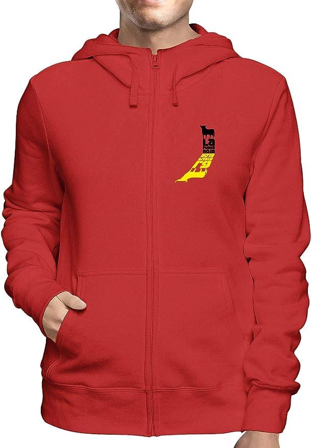 Speed Shirt Sudadera con Capucha y Cremallera roja WC0565 España LA Furia ROJA: Amazon.es: Ropa y accesorios