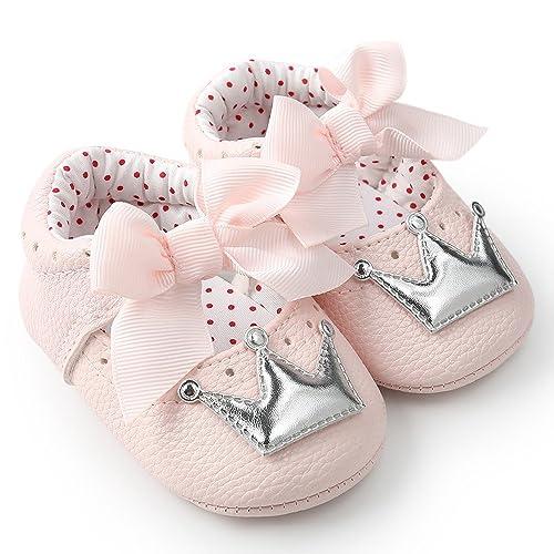 finest selection f197a e5b05 ☺HWTOP Lauflernschuhe Neugeborenes Baby Mädchen Princess ...