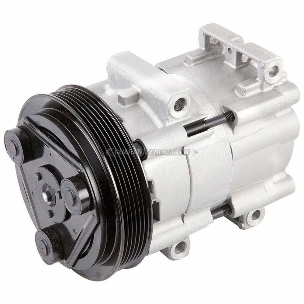 Amazon.com: AC Compressor & A/C Clutch For Ford Focus 2000 2001 2003 - BuyAutoParts 60-01511NA New: Automotive