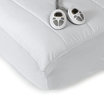 Exceptionnel Amazon.com: Sunbeam Imperial Queen Heated Mattress Pad, 140 Thread Count  Poly/Cotton, White: Home U0026 Kitchen