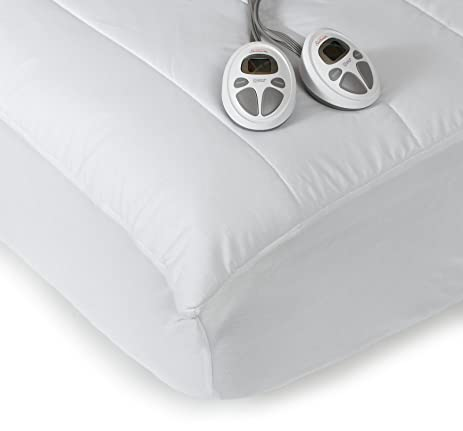 Amazoncom Sunbeam Imperial Queen Heated Mattress Pad 140Thread