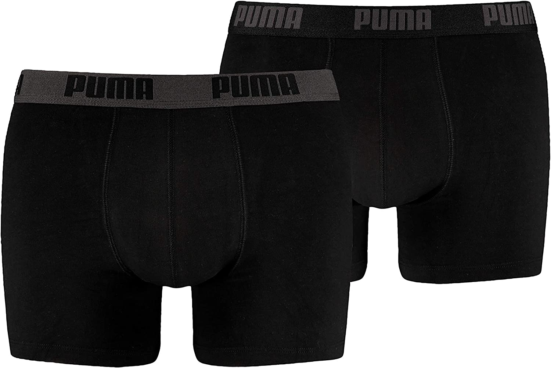Puma 2 Pack Boxer Shorts Men's Boxers Underwear Pant Basic - color selection