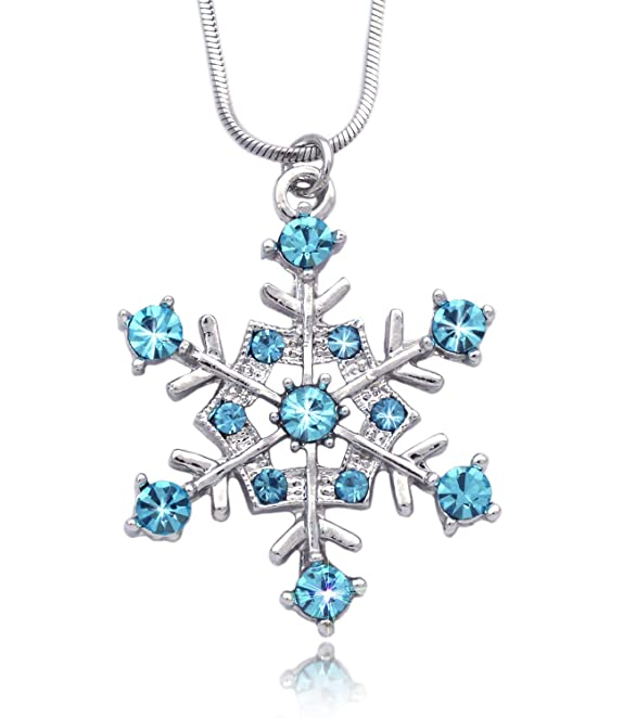 snowflake necklace pendant