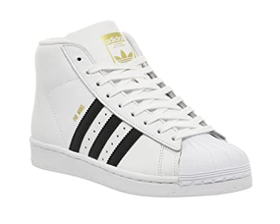 adidas Herren Superstar Pro Model Hohe Sneaker: