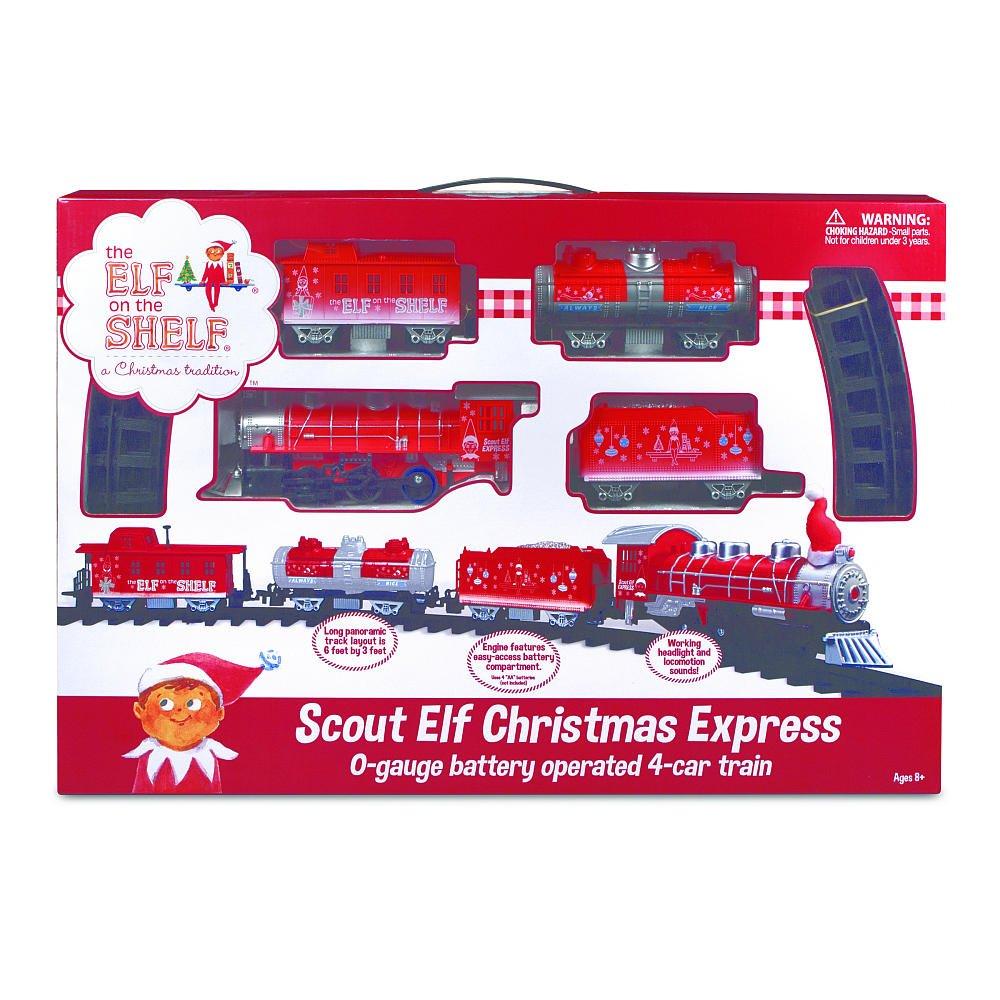 Amazon.com: Elf on the Shelf Christmas Train - Scout Elf Christmas ...