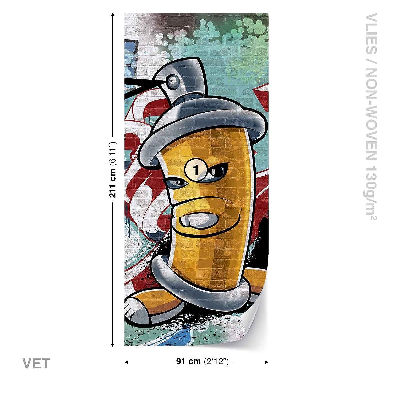 WALL MURAL PHOTO WALLPAPER XXL Graffiti Street Art 1397WS