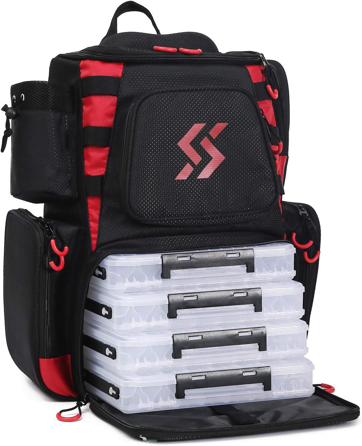 Sougayilang Portable Foldable Multifunctional Lure Fishing backpack