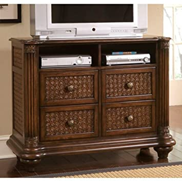 Progressive Furniture P142 40 Palm Court II Media Chest, 48 X 19 X 36