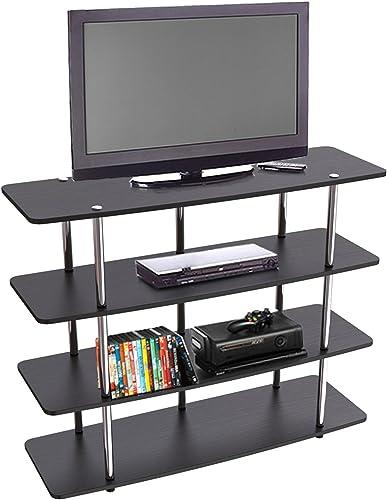 Convenience Concepts Designs2Go XL Highboy TV Stand, Black