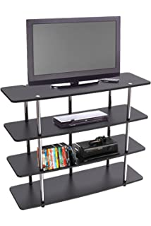 Convenience Concepts Designs2Go Highboy TV Stand, X Large, Black
