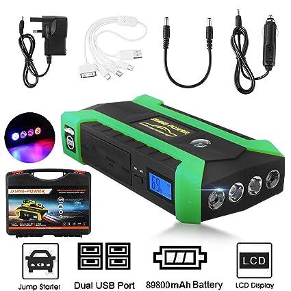 Buy Veena Eu Plug 4 Usb 89800mah 12v Car Jump Starter Pack Booster