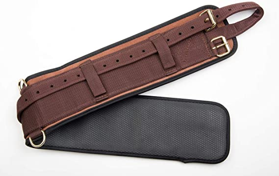 """Details about  /Australian Saddle Breathable Neoprene Girth 27/"""" to 39/"""" Black or Brown"""
