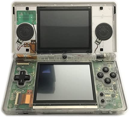 ValueDeluxe Custom Transparent BLACK EDITION Nintendo DS Lite System Hand held Gaming Console